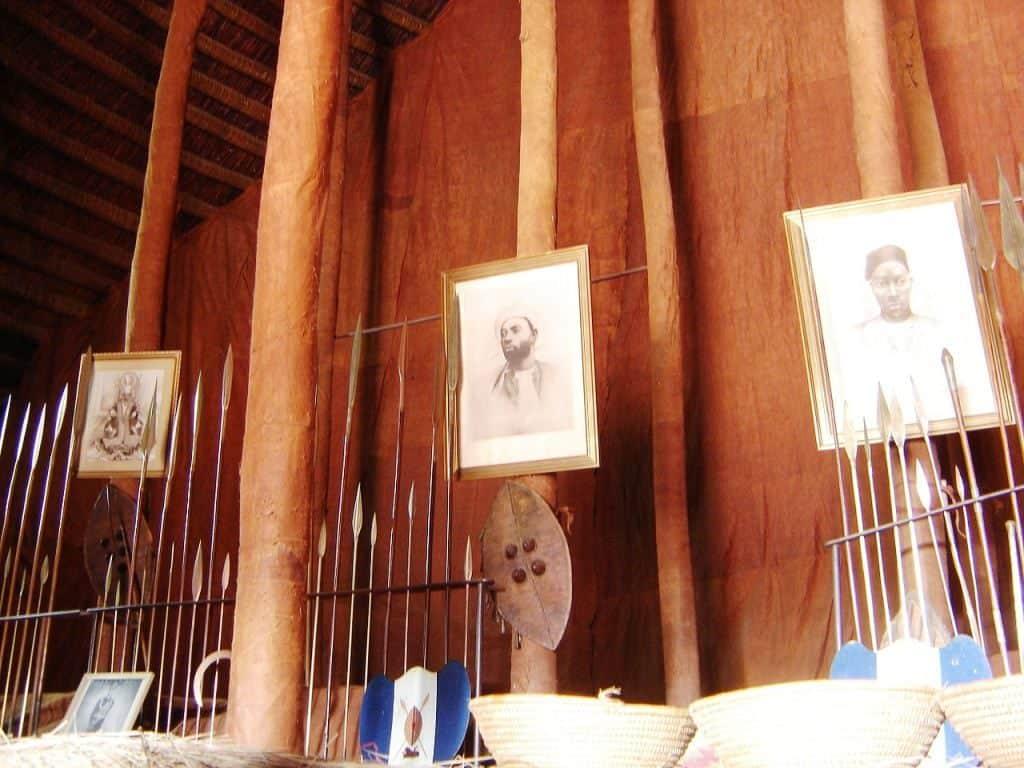 Kasubi Tombs Burial sites