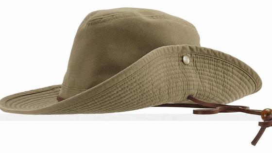 a safari hat